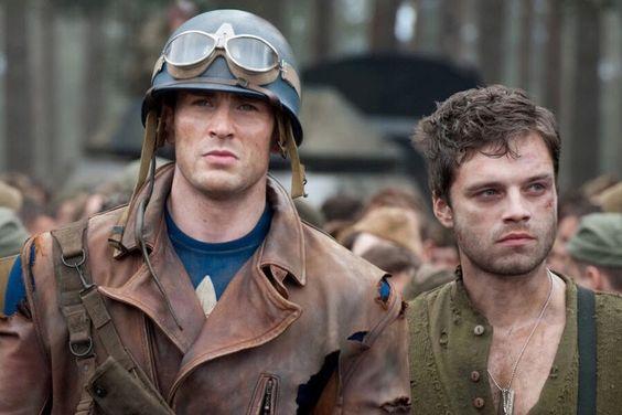 Steve and Bucky ❤️:
