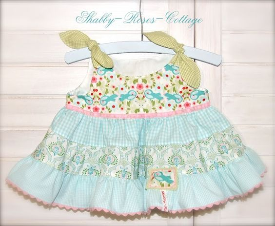 Sweet dress for a baby girl
