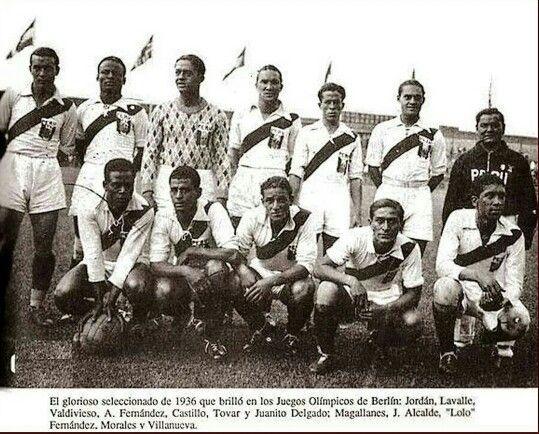 Selección Nacional de Fútbol de Perú, 1936