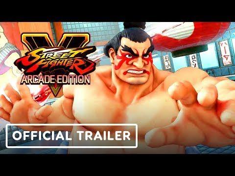 Street Fighter V Official E Honda Lucia Poison Gameplay