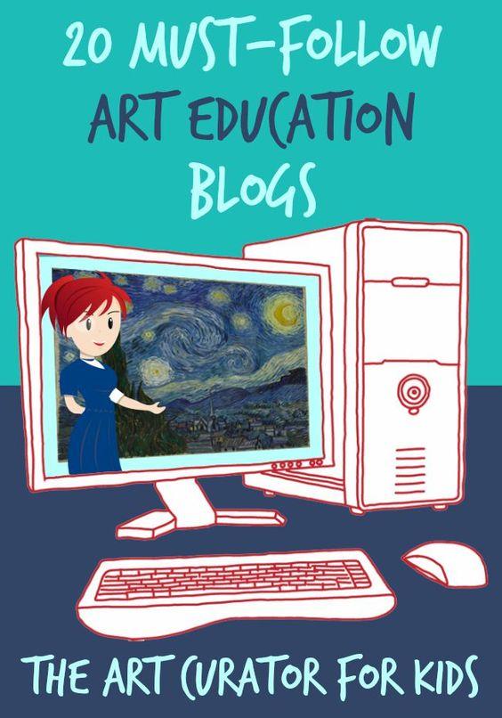 The Art Curator for Kids - 20 Must-Follow Art Education Blogs