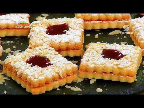Samira tv g teau sabl en tranche de arachide for Algerian cuisine youtube