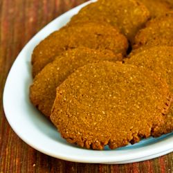 Low-Sugar and Whole Wheat Molasses-Almond Cookies | Whole Wheat ...