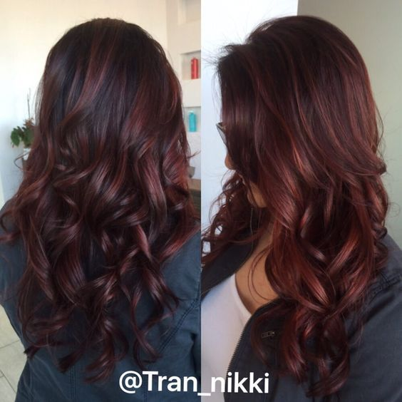48+ Pictures of dark auburn hair color trends