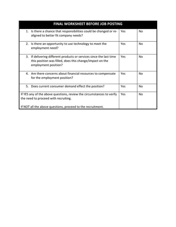 Form 4-Recruitment Strategies Evaluation Human Resource - hr evaluation form