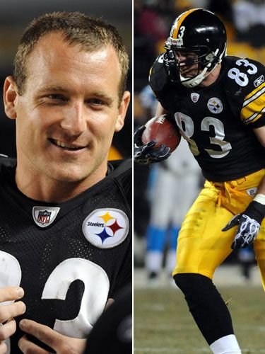 Heath Miller #83 I love this mans!! Go Steelers!!