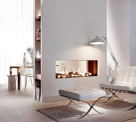 kamin in de wand haus ideen pinterest kamine. Black Bedroom Furniture Sets. Home Design Ideas