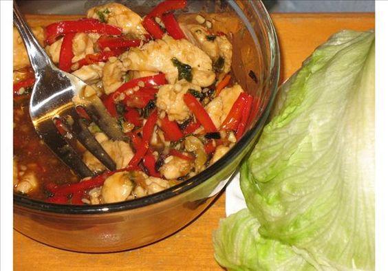 Thai Lettuce Wraps. Photo by V.A.