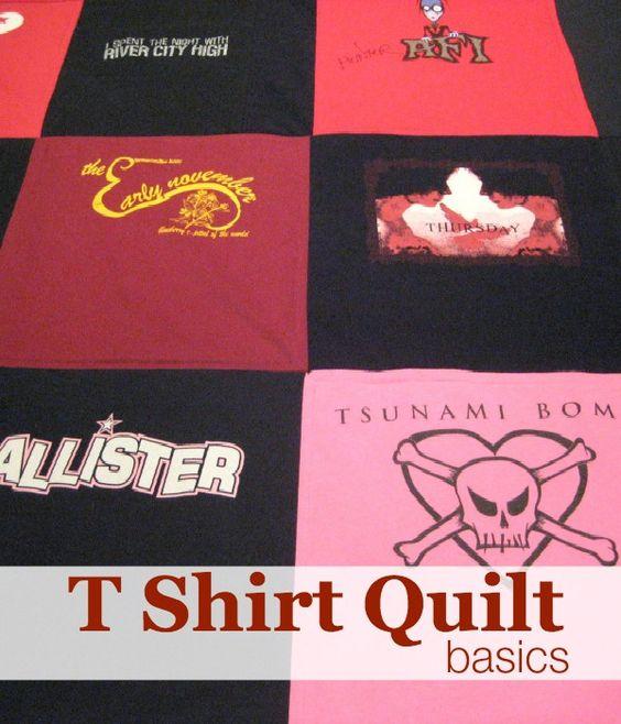 Make A T Shirt Quilt Stitching Stitching Quilt And