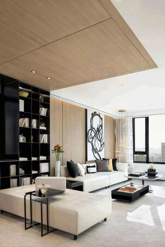 Interior Livingroom Modern Luxury Houses Interiors