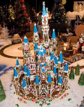 I search to friend my dad on Pinterest and instead find that he's been pinned! First place gingerbread castle designed by Dale Heffner :)