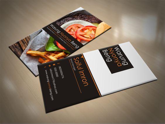 "Business Card ""Cafe And Resto - Nyonya Beng"""