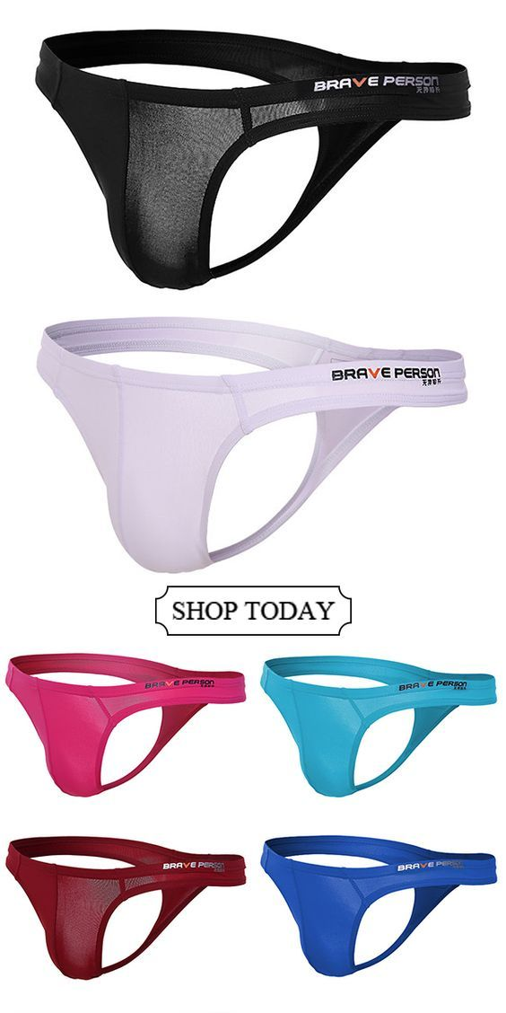 504274e4ab0c UP TO 51%OFF--Sexy Breathable U Convex Thongs for Men#casual #menswear