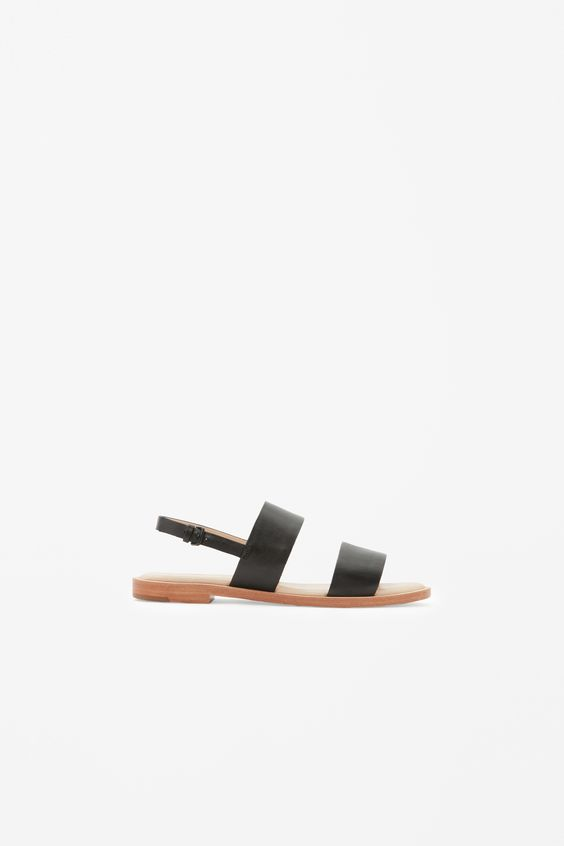 COS | Leather strap sandals