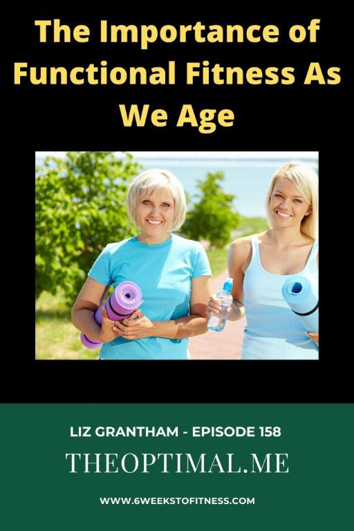 The Importance Of Functional Fitness As We Age Liz Grantham Episode 158 6 Weeks To Fitness Fitness Workout Programs Healthy Lifestyle Motivation