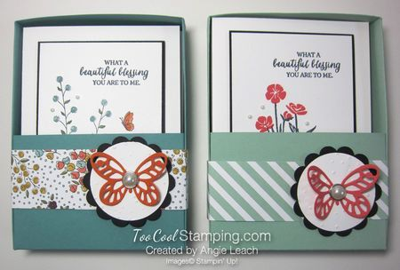 Flowery 5-Card All-Occasion Card Box Gift Set: