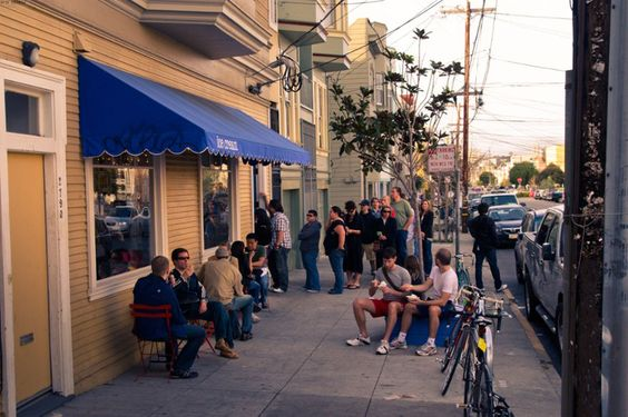 Why SF Stands in Line for Food: Line up at Humphry Slocombe for Secret Breakfast and other flavors; photo by Orin Zebest