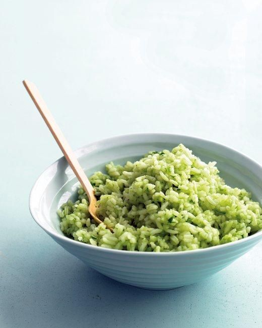 Cilantro-Lime Rice Recipe -- an ideal accompaniment for Mexican main dishes.