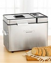 Cuisinart Bread Maker.  Just arrived.  Have no clue how to make bread, but thought it would be fun to try.