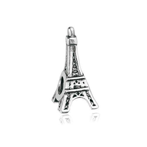 Pingente Torre Eiffel, em prata 925.