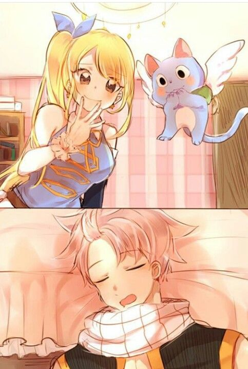 Nalu~ Cute! Who else is liking Lucy's hair?