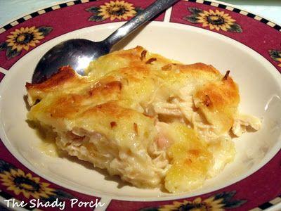 Chicken Dumpling Casserole...easier than the regular chicken and dumplings!