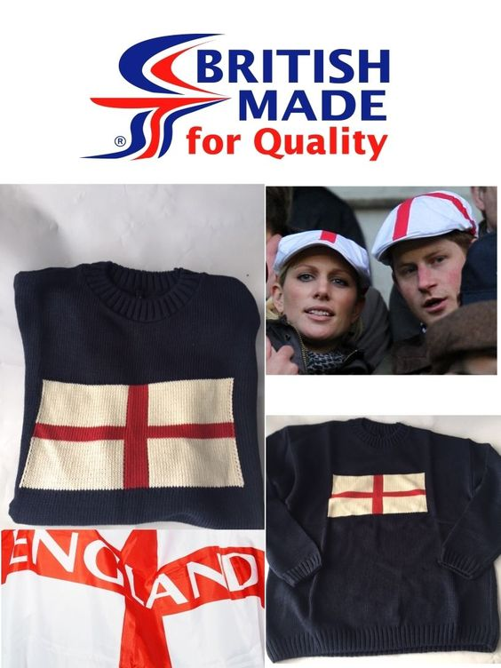 New st georges #cross #england flag jumper sweater top uk made for #christmas xma,  View more on the LINK: 	http://www.zeppy.io/product/gb/2/152285518779/