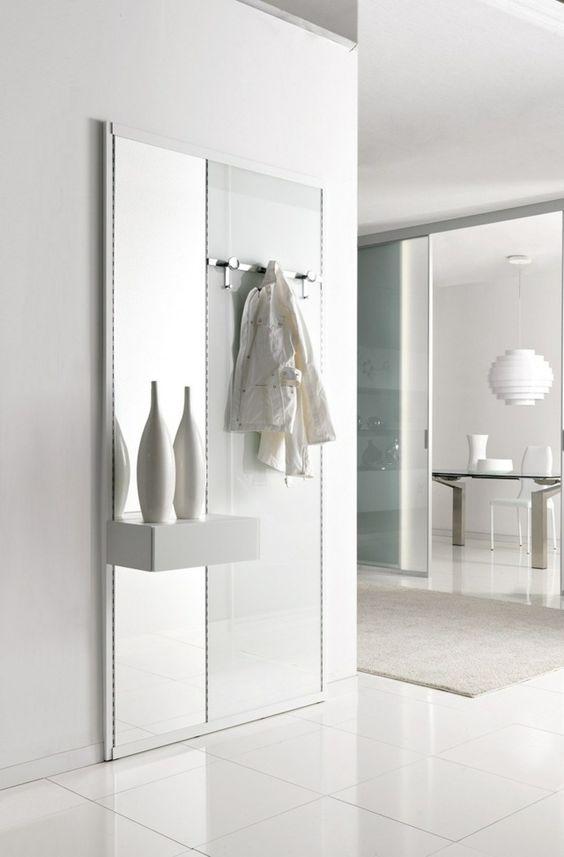 Garderoben Set als Wandpaneel Wohnideen und Deko Pinterest - wandpaneel küche glas