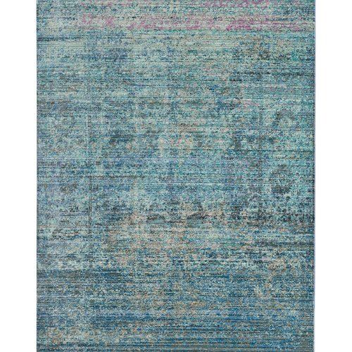 Williston Forge Darvin Hand Tufted Blue Purple Rug Purple Area