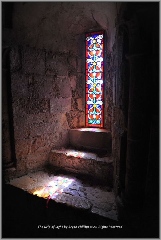 Light from the window - Dover Castle: