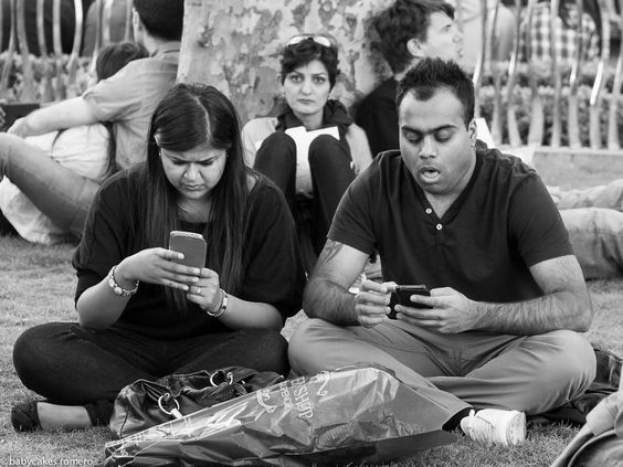 "None of the photos have been staged. | A Photographer Is Chronicling The ""Death Of Conversation"" Due To Smartphones"