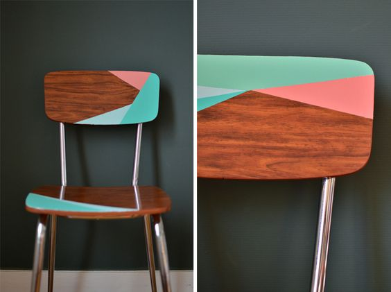 Convierte una com n y ordinaria silla en una fant stica for Chaise formica