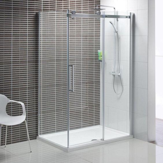 Decoration Enclosure Sliding Glass Door Ceramic Tiles