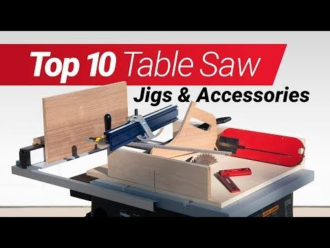 12 Top 10 Woodworking Table Saw Jigs And Accessories How To Make Them According To Me Youtub Table Saw Jigs Woodworking Plans Diy Woodworking Table Saw