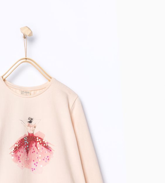 Ballerina T - shirt - T - shirts - Girl - KIDS - SALE | ZARA United Kingdom