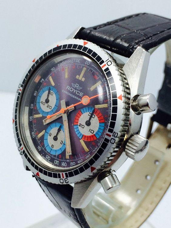 fs royce multi color diver chronograph valjoux 72 watches pinterest montres recherche et. Black Bedroom Furniture Sets. Home Design Ideas