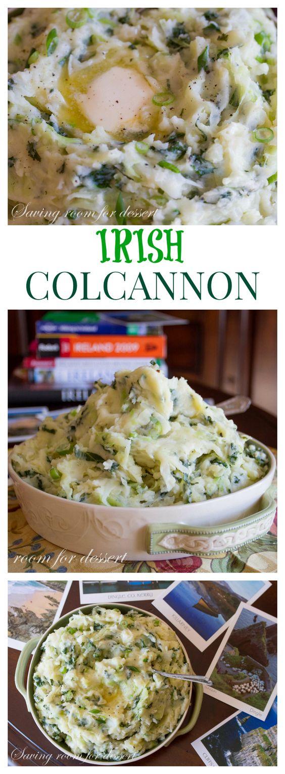 Colcannon - classic Irish dish: