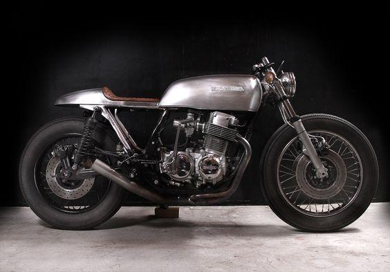 1976 CB750F SS, custom build by The Tarantulas, Portland