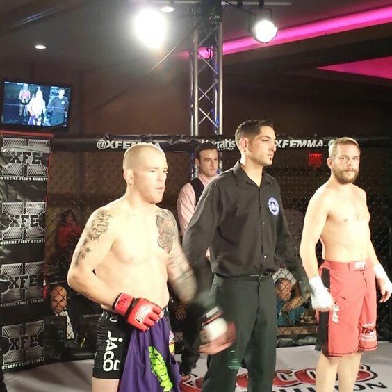 Jon Delbrugge with the 9 sec TKO.  Results don't lie.  http://www.Crazy88MMA.com