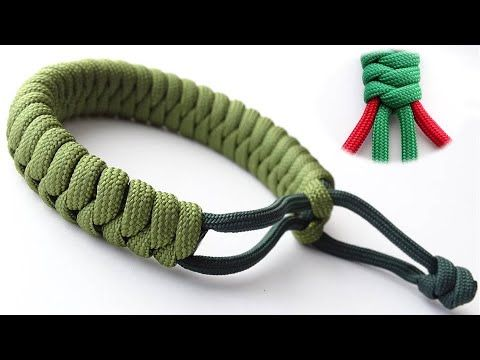 Make A Flat 4 Strand Mad Max Style Snake Knot Paracord Survival