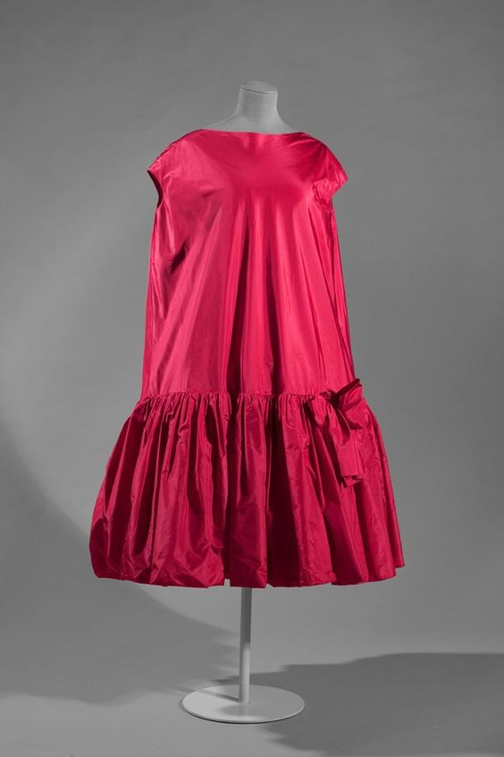 "Balenciaga ""Baby Doll"" Cocktail Dress, 1958"