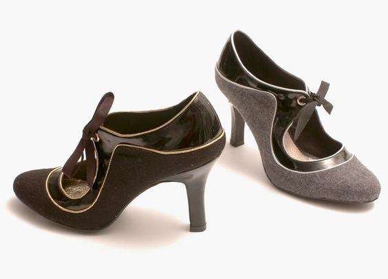Modèle AMADEUS en feutrine. Camille Daurel design for MELLOW YELLOW - Hiver 2006-2007