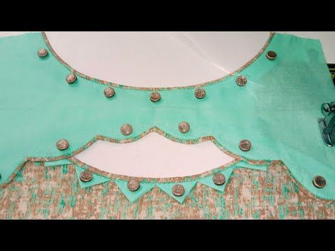 Design k ladies galon Neckline Fashion