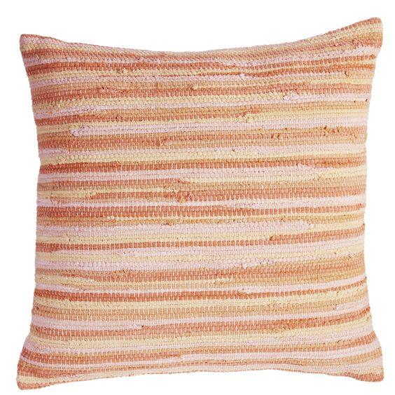 Sierkussen KAAT Rags Multi - NIEUWE COLLECTIE   Cushion KAAT   http://www.livengo.nl/beddengoed/sierkussens   #kussens #oranje #woonstijl #slaapkamer #livengo