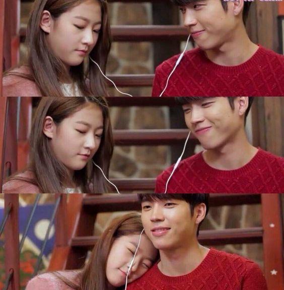 high school love on kim sae ron and woohyun i ship