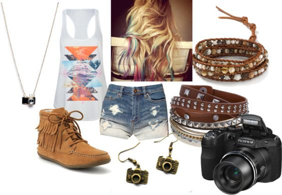 """the girl behind the camera"" by raynefalls on Polyvore"