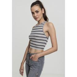 Damen Tanktop bauchfrei Urban Classics Ladies Cropped Mesh Top
