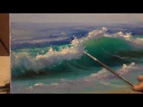 Yagliboya Deniz Nasil Yapilir Youtube Deniz Resmi Nasil Cizilir Youtube 2019 Akrilik Resimler Sanatsal Resimler Ve Soyut Sanat Tablolari