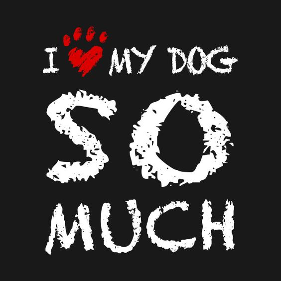 Awesome 'I+Love+My+Dog+So+Much...' design on TeePublic!