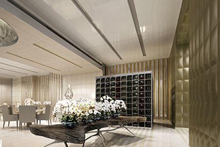 w residences   Rocco Yim, Yabu Pushelberg design W Guangzhou in China